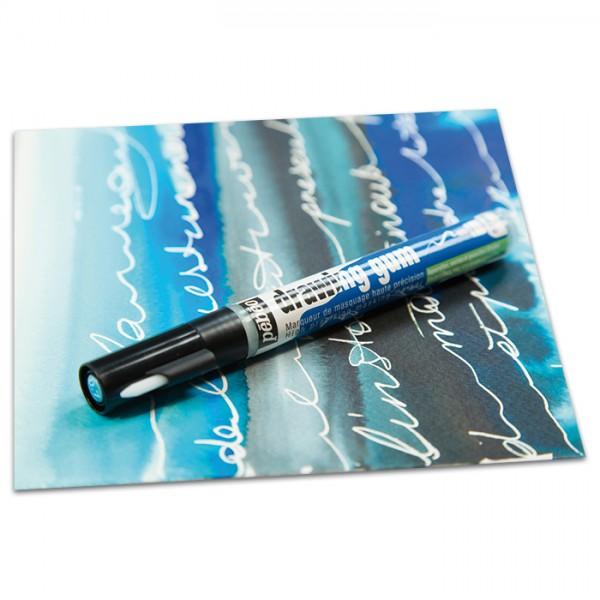 Drawing Gum Marker Strichbreite ca. 0,7mm Magic Marker mit abziehbarem Rubbelkrepp