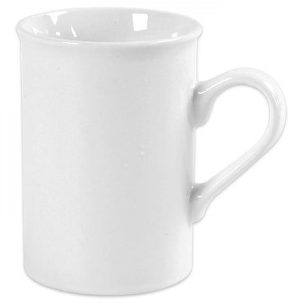 Tasse Porzellan Ø 6,9-7,4x10cm weiß