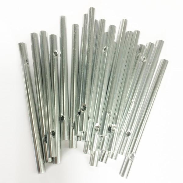 Klangstäbe Aluminium 6mm 9cm 20 St. voll