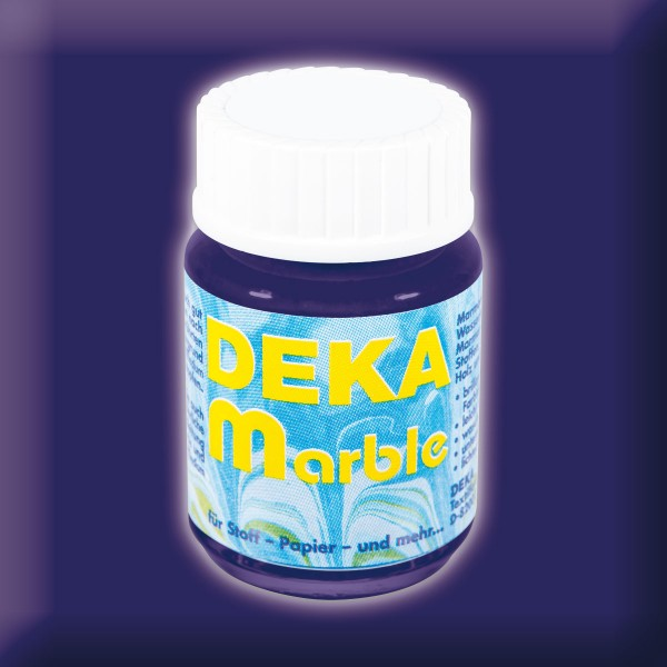 Deka-Marble Marmorierfarbe 25ml dunkelblau