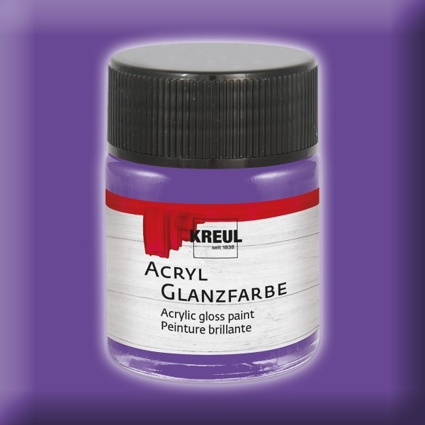 Acryl-Glanzfarbe 50ml violett