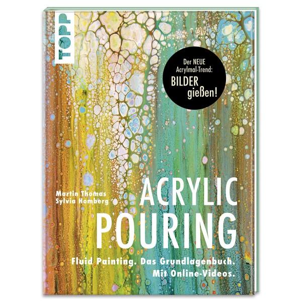 Buch - Acrylic Pouring 80 Seiten, 21,5x28,5cm, Hardcover