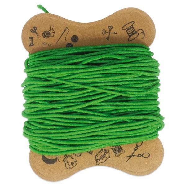 elastische Kordel 0,8mm 10m grün Kunstfaser