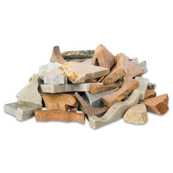 Formsteine Speckstein ca. 4-10cm ca. 50 St. ca. 1,5kg, ohne Bohrung, farblich gemischt
