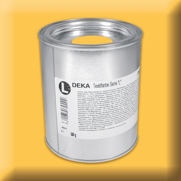 Deka-Serie L Textilfarbe 500g gelb