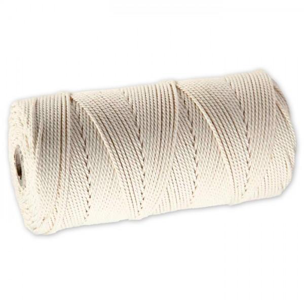 Baumwollkordel 2mm 250g ca. 120m hellnatur 85% Baumwolle, 15% Polyester