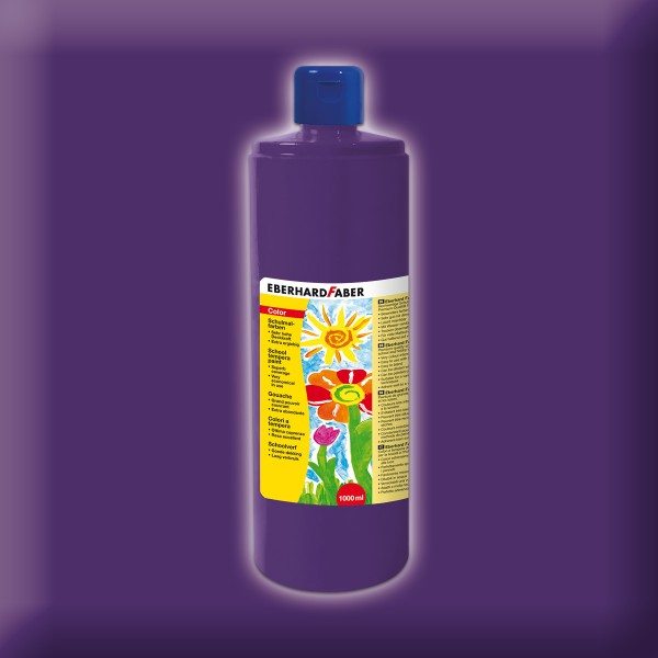 Color-Schulmalfarbe 1.000ml purpurviolett