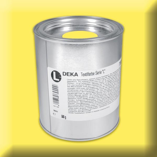 Deka-Serie L Textilfarbe 500g zitron