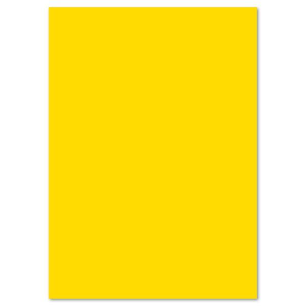 Tonkarton 220g/m² DIN A4 100 Bl. bananengelb