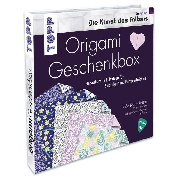 Buch - Origami Geschenkbox 64 Seiten, 20x19,5cm, Hardcover