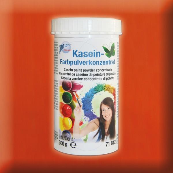 Kasein Pulverfarbe 300g orange Farbpulverkonzentrat