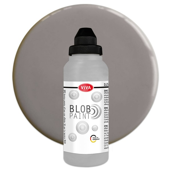 Viva Blob Paint Acrylfarbe 280ml grau
