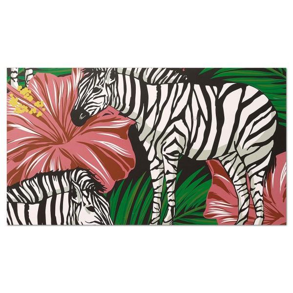 Malen nach Zahlen 40x30cm Zebra
