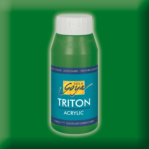 Triton Acrylfarbe 750ml laubgrün