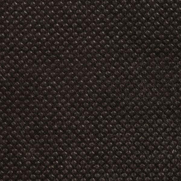 Stoff-Imitat 70g/m² 10m schwarz 100% Polypropylen, 125cm breit