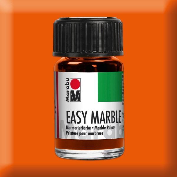 Easy Marble 15ml orange Marmorierfarbe