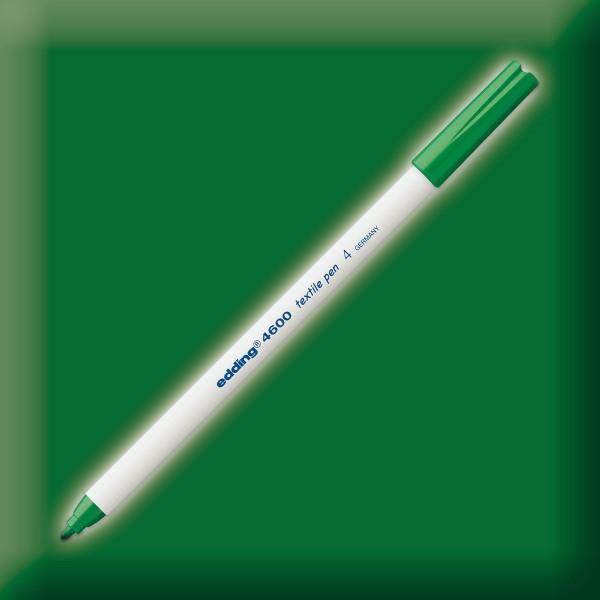 edding 4600 Textilstift grün Strichbreite 1mm