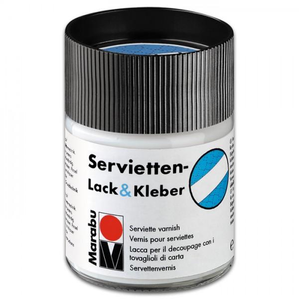 Servietten Lack & Kleber 250ml matt