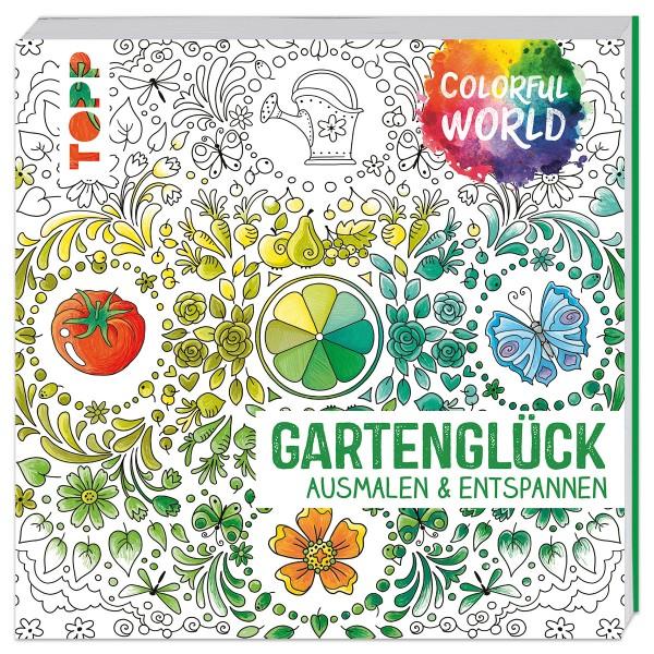 Buch - Colorful World - Gartenglück 144 Seiten, 22x22cm, Softcover