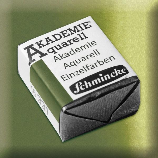 Akademie Aquarell 1,6ml oliv gelbgrün ½ Näpfchen