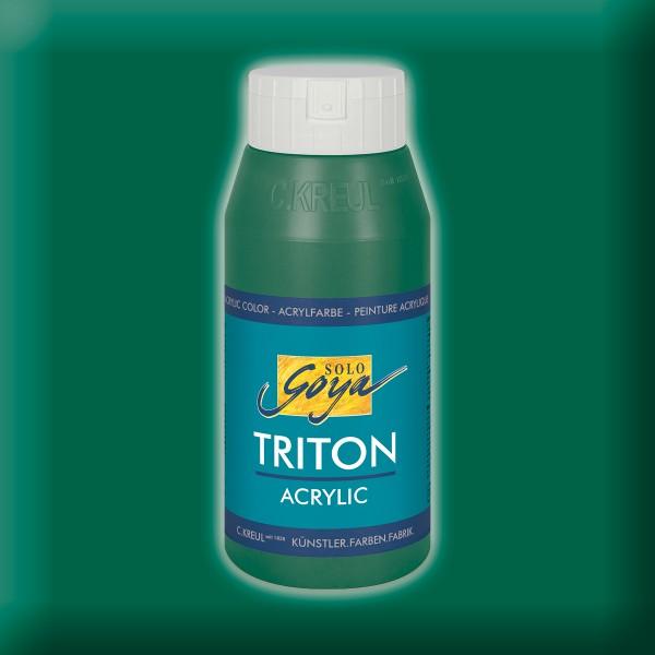 SOLO GOYA Triton Acrylic 750ml dunkelgrün