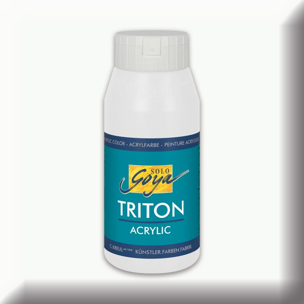 SOLO GOYA Triton Acrylic 750ml weiß