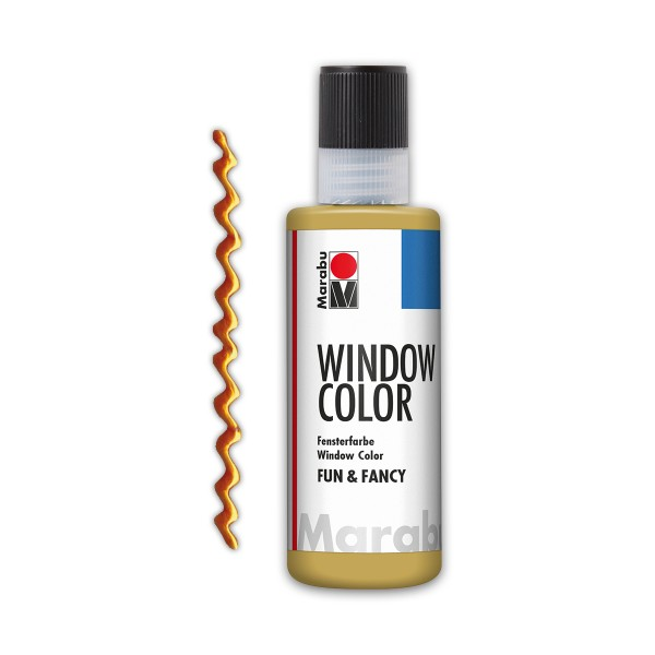 Marabu fun&fancy 80ml Konturgold Windowcolor