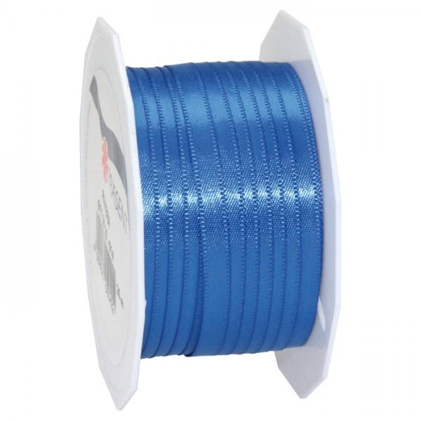 Satinband 10mm 25m royalblau 100% Polyester