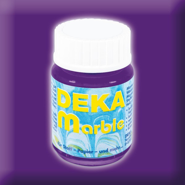 Deka-Marble Marmorierfarbe 25ml blau