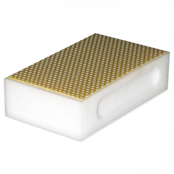 Diamantschleifblock 90x55mm weiß Grobheit 800