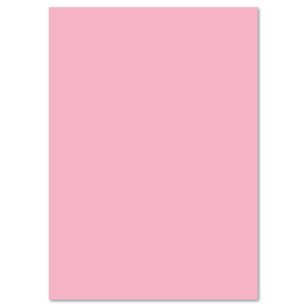 Tonkarton 220g/m² DIN A4 100 Bl. rosa