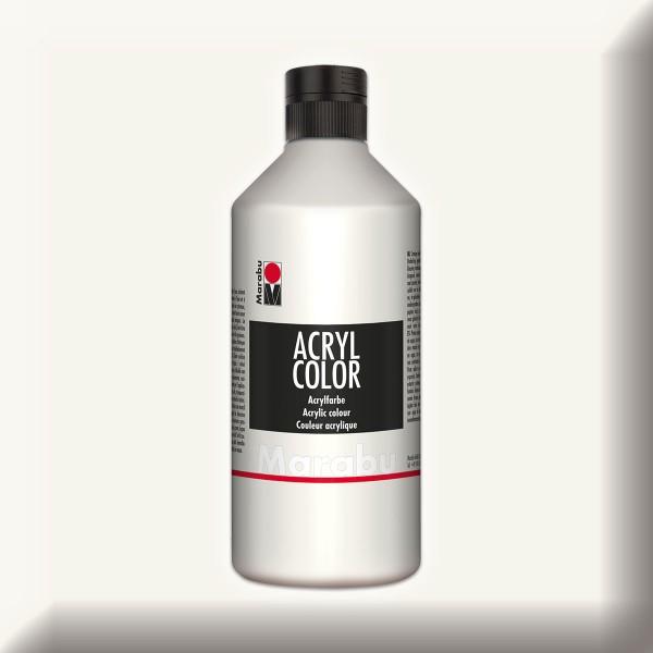 Marabu Acryl Color 500ml weiß