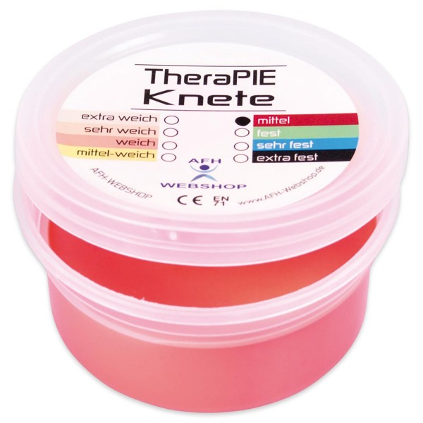 TheraPIE-Knete 85g Dose rot=mittel