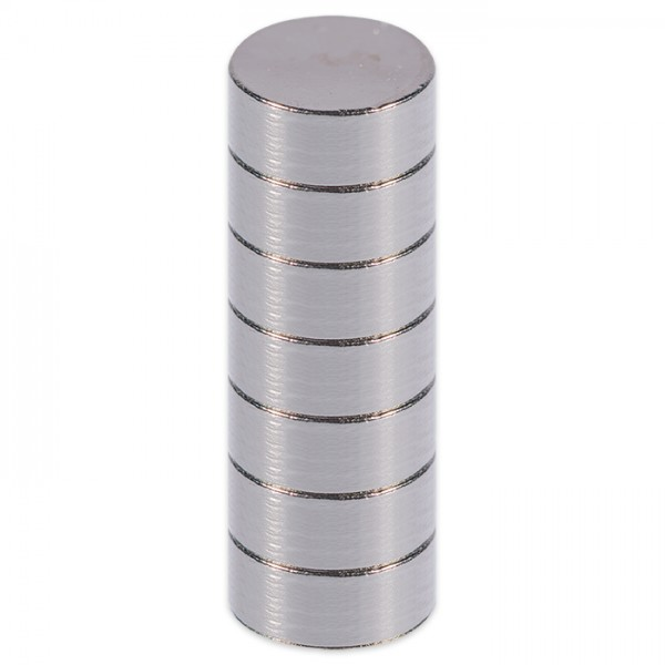 Supermagnete 2mm stark Ø 5mm 10 St.
