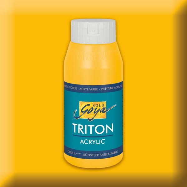 Triton Acrylfarbe 750ml maisgelb
