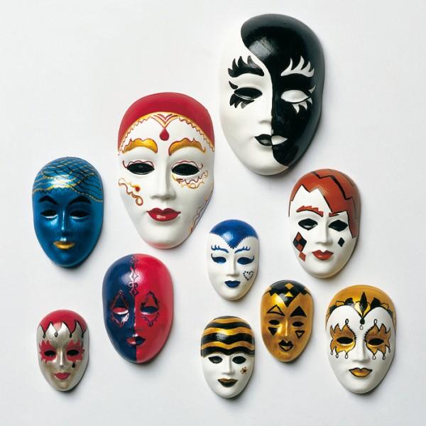 Gießform Maskenset 10-teilig Kunststoff,25x40mm bis 45x75mm