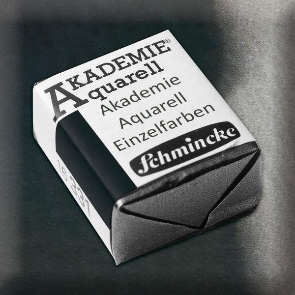 Akademie Aquarell 1,6ml schwarz ½ Näpfchen