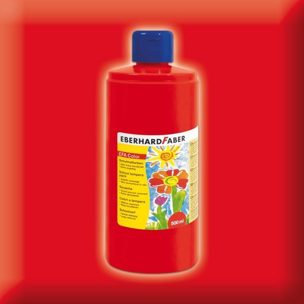 Color-Schulmalfarbe 500ml permanent karmin