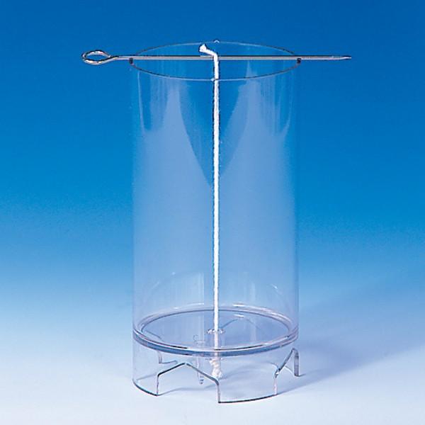 Kerzengießform 72x117mm zylindrisch oben flach bruchsicherer Kunststoff, hitzebeständig bis 120°C