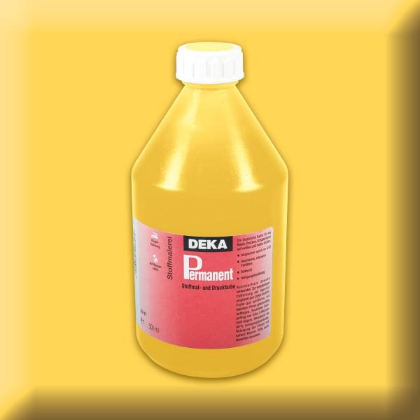 Deka-Permanent Stoffmalfarbe 500ml gelb
