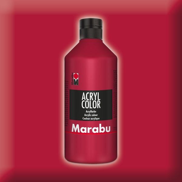 Marabu Acryl Color 500ml karminrot