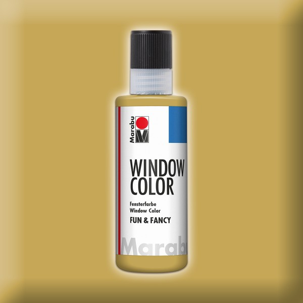Marabu fun&fancy 80ml gold Windowcolor