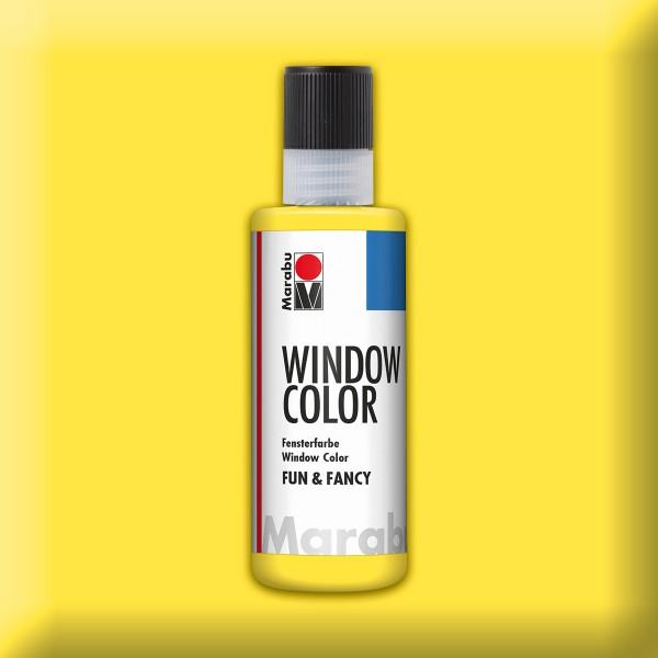 Marabu fun&fancy 80ml pastellgelb Windowcolor