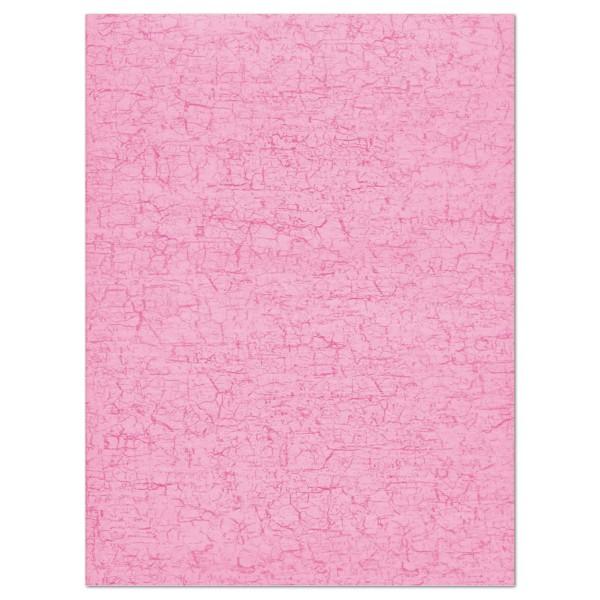 Decoupagepapier rosa von Décopatch, 30x40cm, 20g/m²