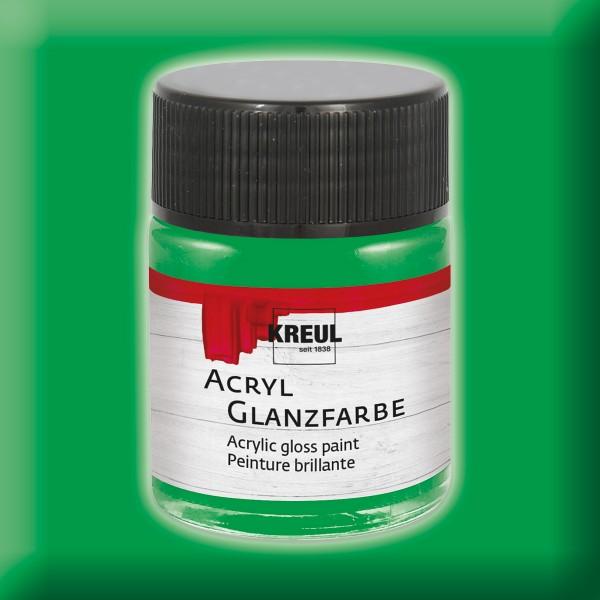 KREUL Acryl-Glanzfarbe 50ml grün
