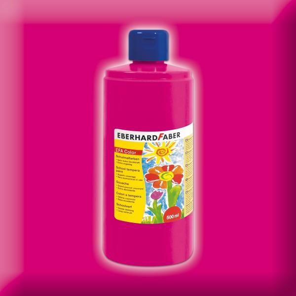 Color-Schulmalfarbe 500ml karminrosa