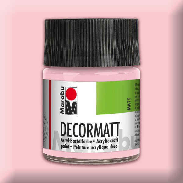 Decorlack Acryl matt 50ml wildrose