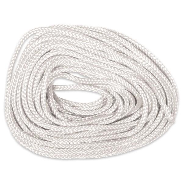 Paracord-Garn rund 3mm 10m weiß Makramee-Knüpfgarn, Polyester