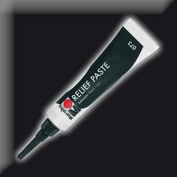 Marabu Relief Paste 20ml schwarz