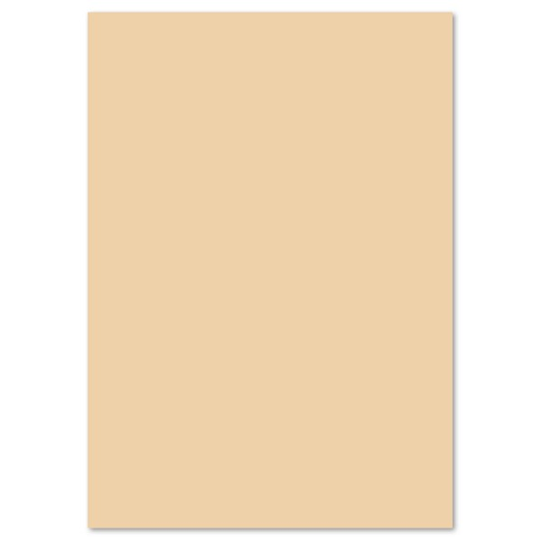 Tonpapier 130g/m² DIN A4 100 Bl. chamois